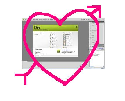I heart Dreamweaver