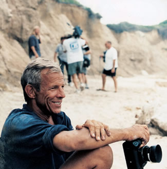 Peter Beard with Camera