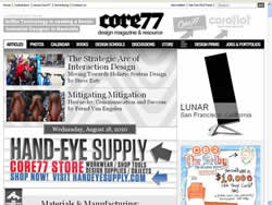 Core77 website