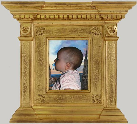 David Eichenberg, Duchess of Toledo with Frame, 2008
