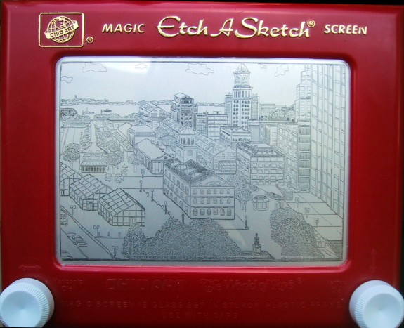Etch-A-Sketch Boston