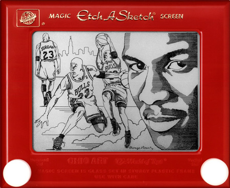 Etch-a-Sketch by George Vlosich III