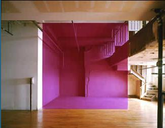 Georges Rousse Bending Space