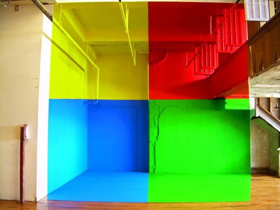 Georges Rousse Bending Space Durham 2006