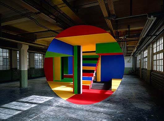 Georges Rousse Rueselsheim 2003