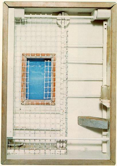 Joseph Cornell, Toward the Blue Peninsula, 1951-1952