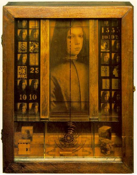 Joseph Cornell, Untitled (Medici Boy), 1942-1952