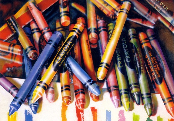 Audrey Flack, Crayola, 1972-1973