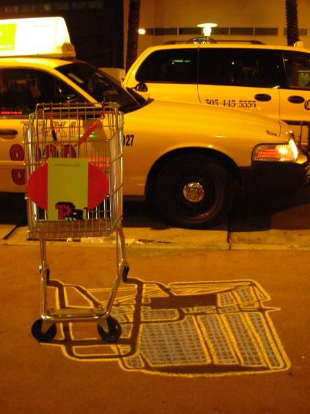 Ellis Gallagher, Shopping Cart, Lincoln Rd., Miami Beach, FLA 2007