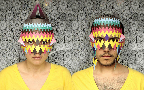 Paper Masks by Curious Flux