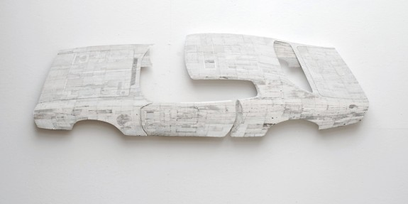 Ron van der Ende NASCAR Charger 2009 (found wood)