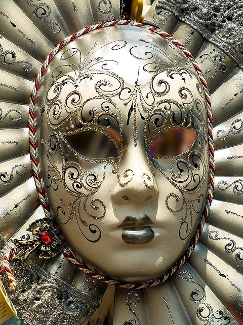 Venetian Mask by Gerry Balding