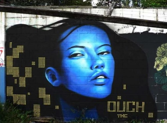 Character by Ouch and TNC crew, Hamilton New Zealand (picture from Vincent Morgan)
