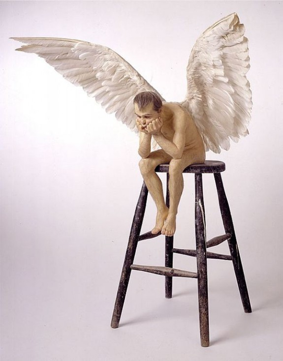 Ron Mueck Angel