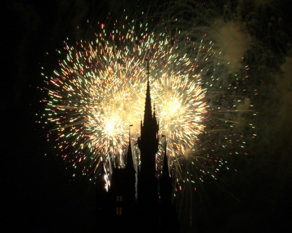 magic kingdom fireworks. Magic Kingdom Fireworks by