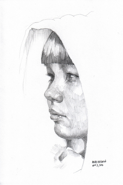 Nanodrawmo 6 by Mike Creighton, graphite on paper