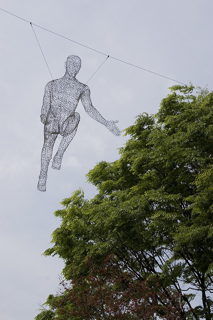 Human Sculpture in Seoul by FrancoisRoche