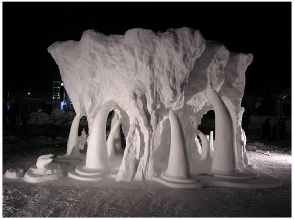 Leaking Glacier by Hongtao Zhou