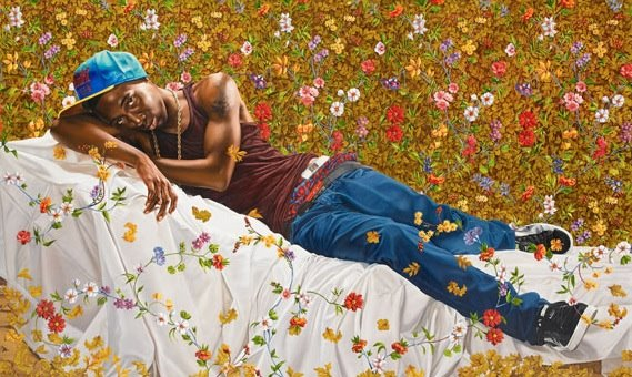 Morpheus, 2008, Oil on Canvas by Kehinde Wiley