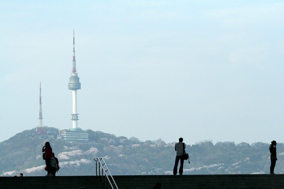 Namsan Through the Museum by lets.book via Flickr