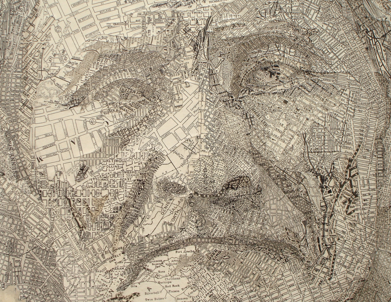 Geronimo, 2007, Detail By Matthew Cusick