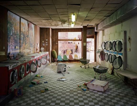 Laundromat 2008 by Lori Nix