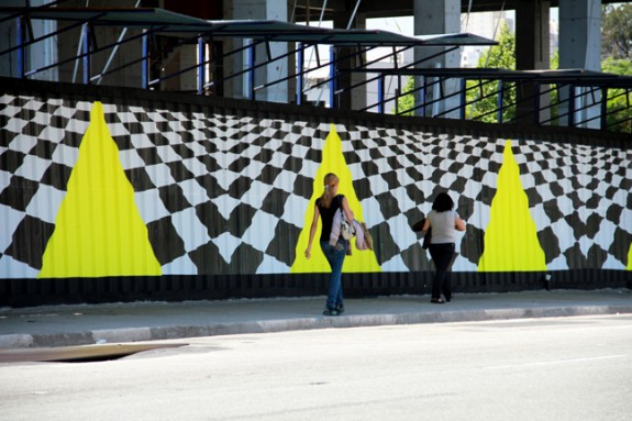 Brookfield Urban Art Gallery Installation(2) Sao Paulo, Brazil by Tofer Chin