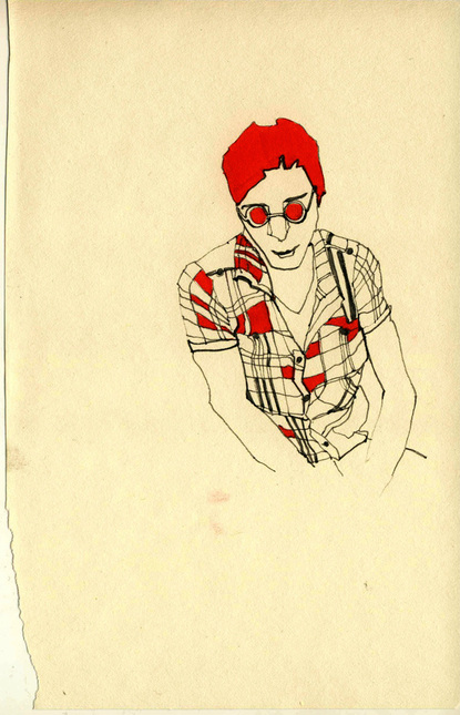 Red Illustration by Katie Sergeeva (7)