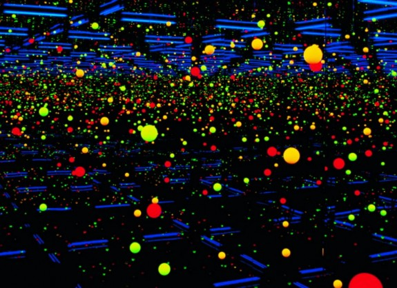 Soul Under the Moon 2002 by Yayoi Kusama