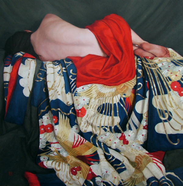 Painting by Stephanie Rew