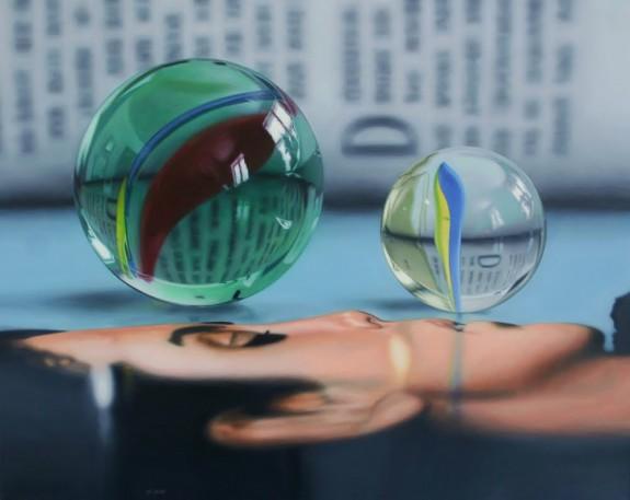 Vanity Fair, acrylic on canvas, by Jason de Graaf