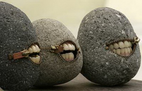 Stone sculptures by Hirotoshi Itoh