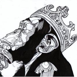 Ink Drawings of Luke Dixon