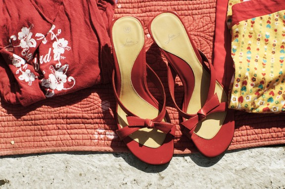 poppytalk red summer shoes by Jek in the box on Flickr.jpg