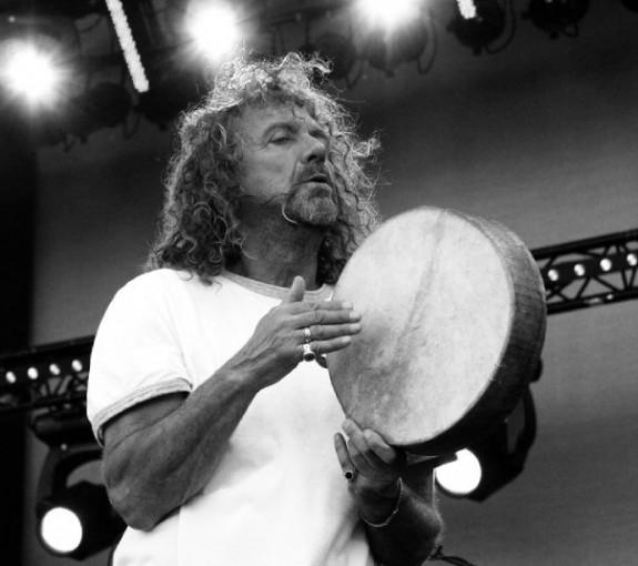 Robert Plant, Werchter, Belgium, photograph by Jeff Colen