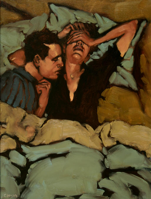 Either Way, oil on canvas by Michael Carson