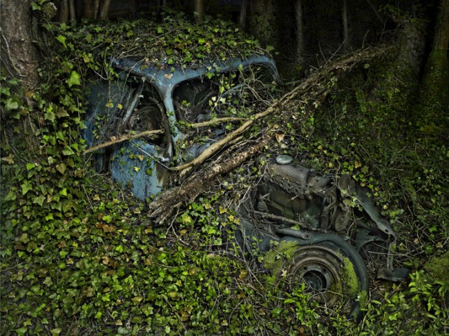 Paradise Parking 10, photograph by Peter Lippmann