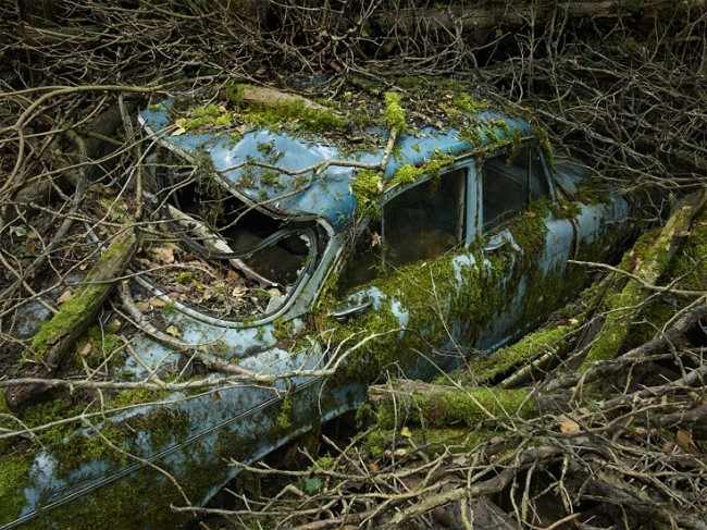 Paradise Parking 14, photograph by Peter Lippmann