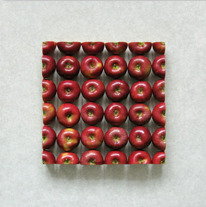 Apples 02, C Print 2007 by Sakir Gokcebag