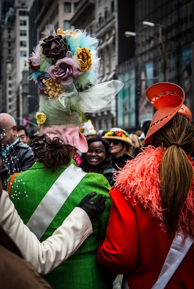 Easter 2013 No.7, Fifth Avenue, New York City, photograph by Ric Camacho