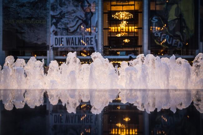 The Metropolitan Opera at Dusk, photograph by Ric Camacho