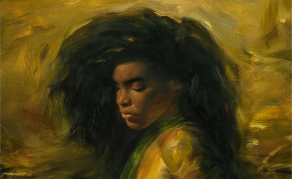 Irvin_Rodriguez_Black_and_Gold_2014_Oil_on_linen