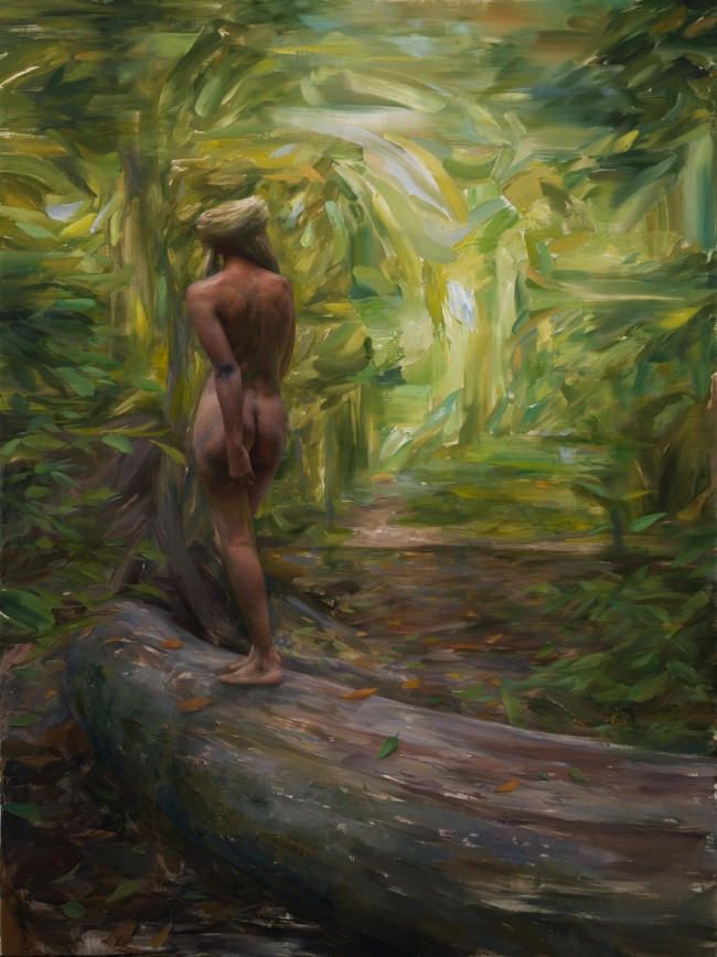 Irvin_Rodriguez_Forest_of_Solitude_2015_Oil_on_Linen