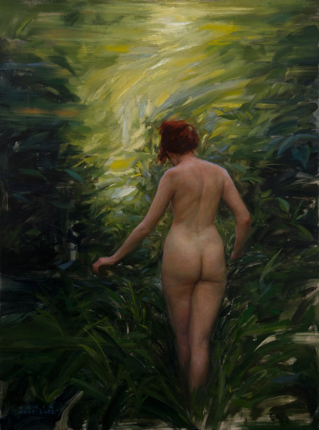 Irvin_Rodriguez_Into_the_Woods_2015_Oil_on_linen